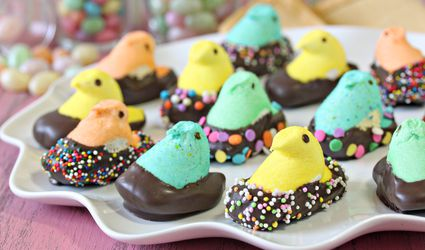Chocolate-Dipped Peeps