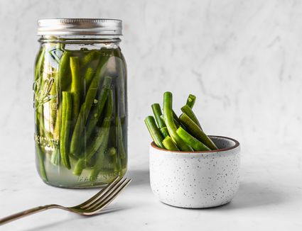 Lacto-Fermented Green Beans