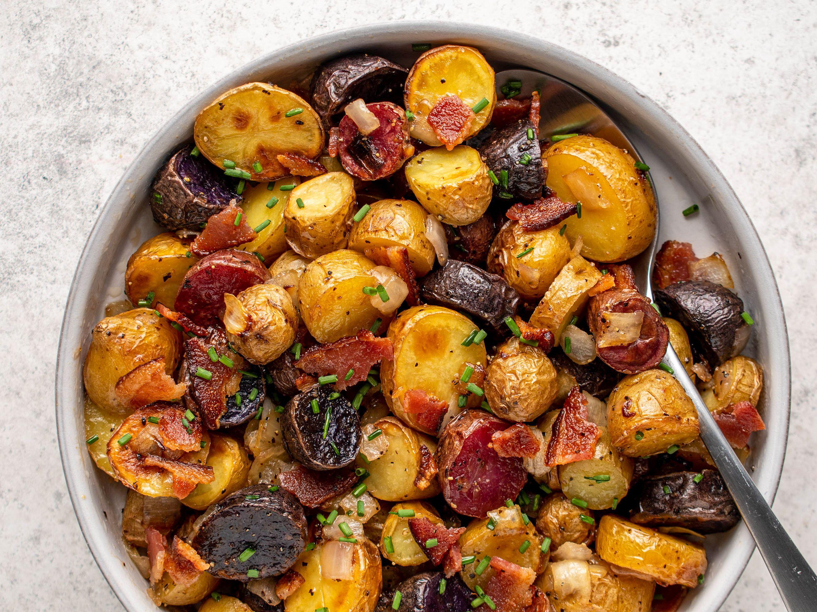 German Roasted Potato Salad Recipe