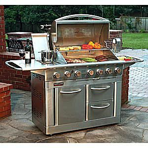 Jenn-Air Model #720-0164 Gas Grill Review (Discontinued)