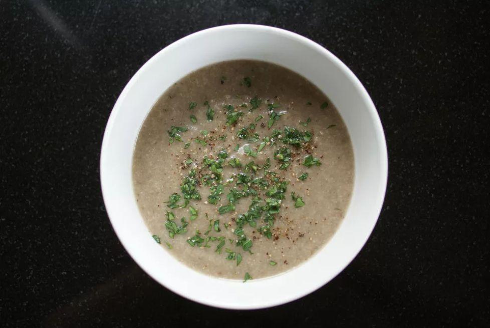 Vegan Potato Mushroom Soup