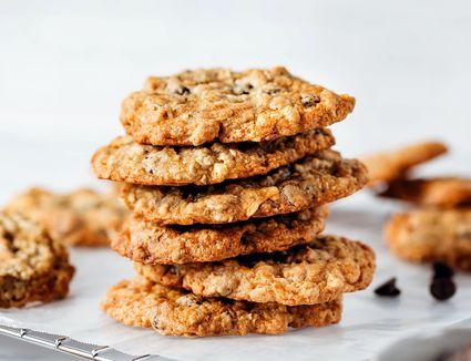 Dairy-Free Oatmeal Chocolate Chip Cookies