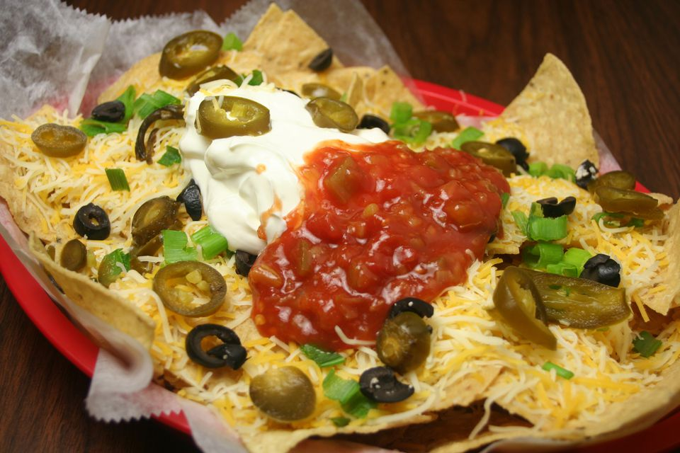 Nachos with Jalapeno Peppers