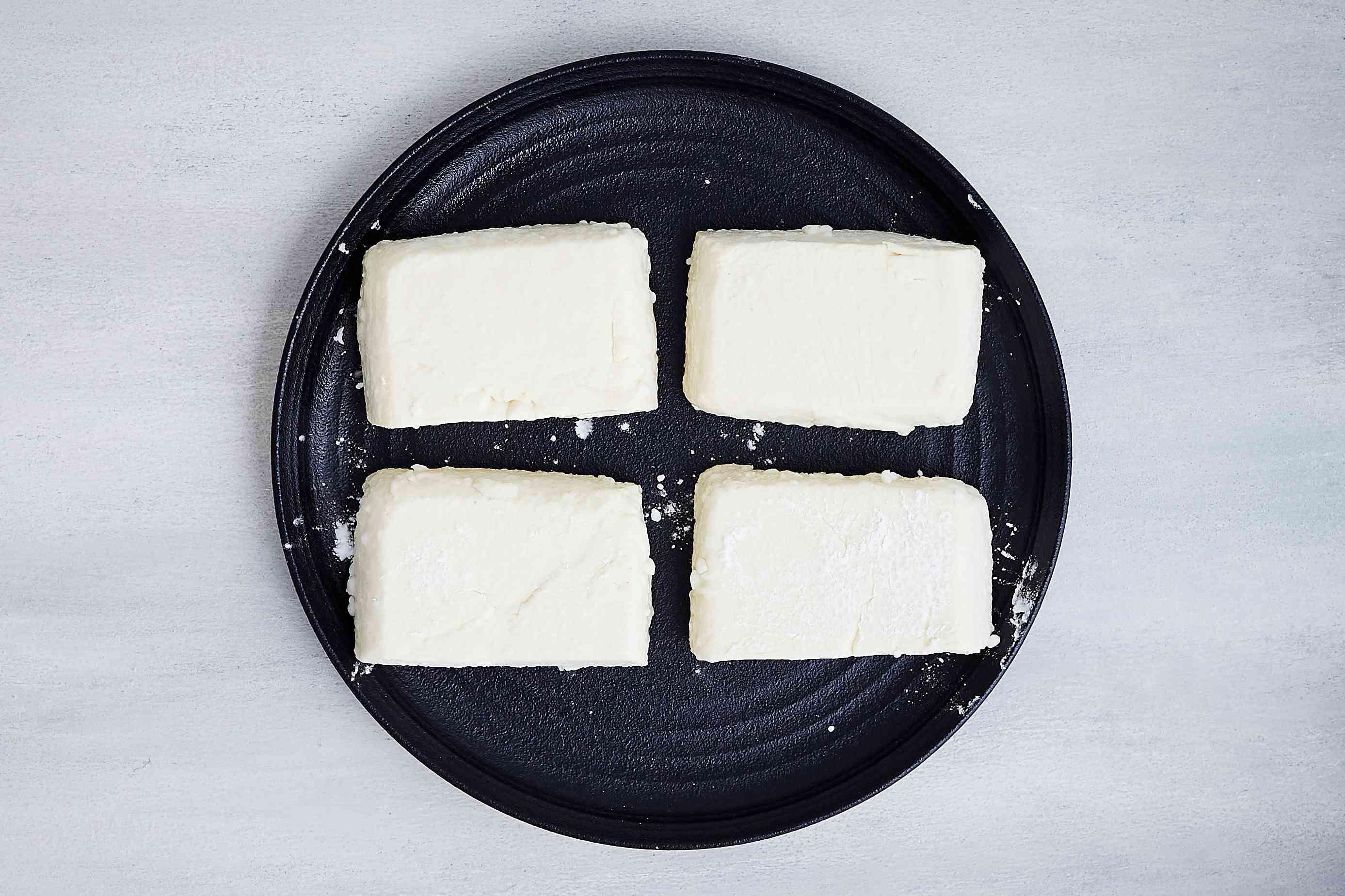 tofu dusted with katakuriko starch