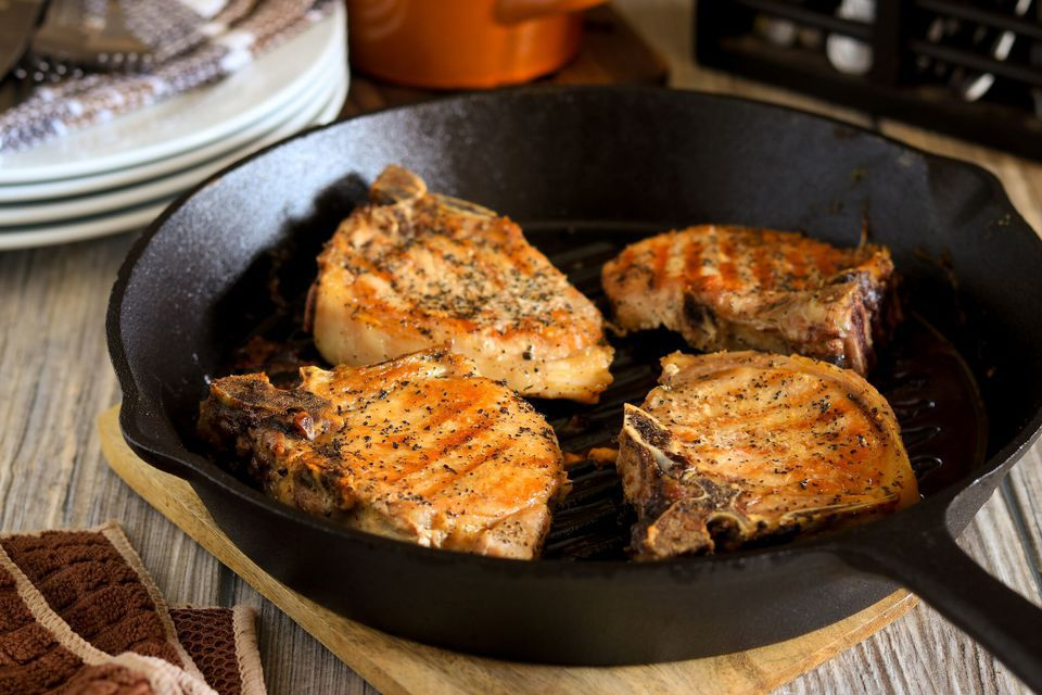Oven Roasted Skillet Pork Chops