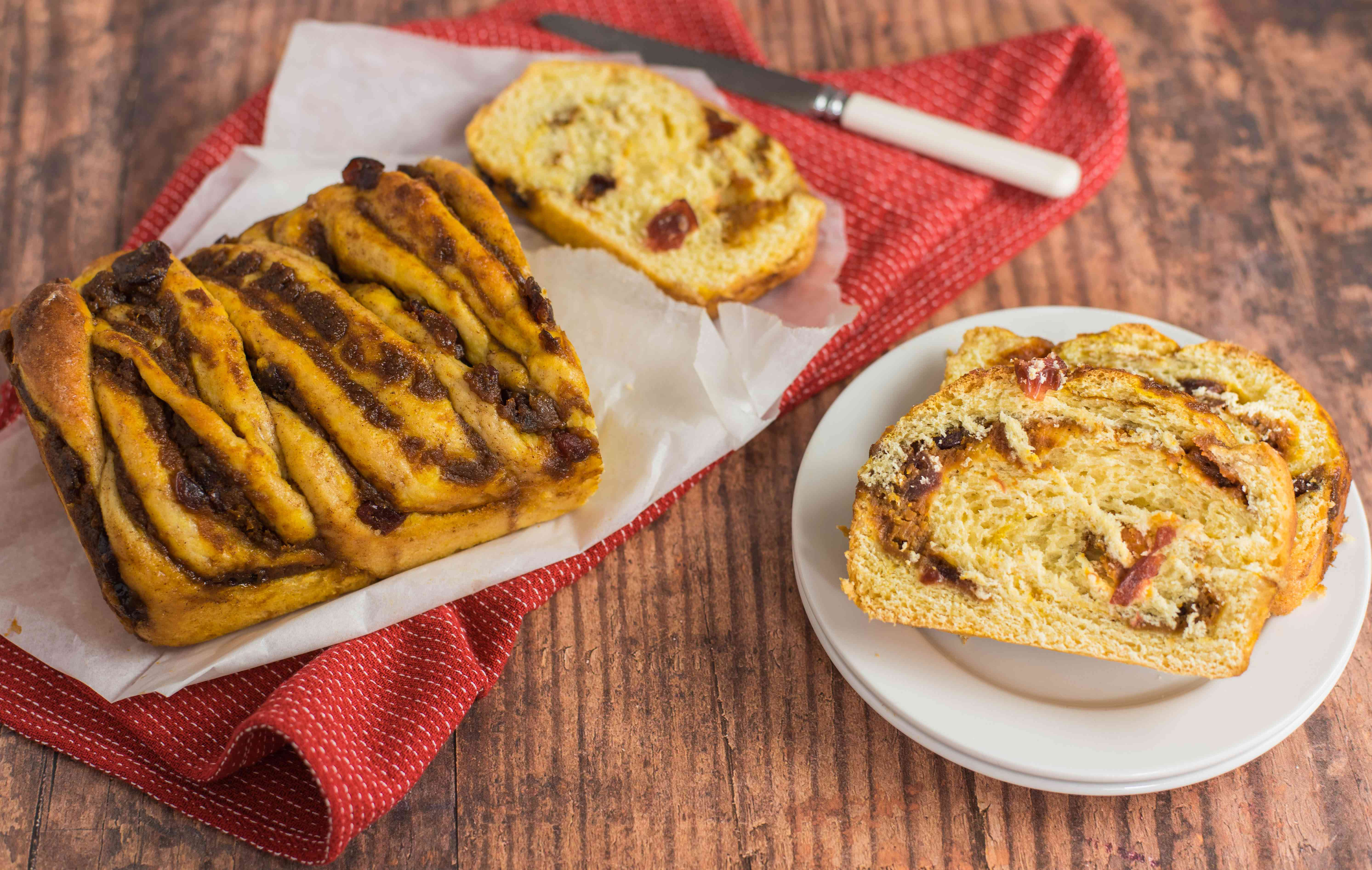 Pumpkin spice babka recipe