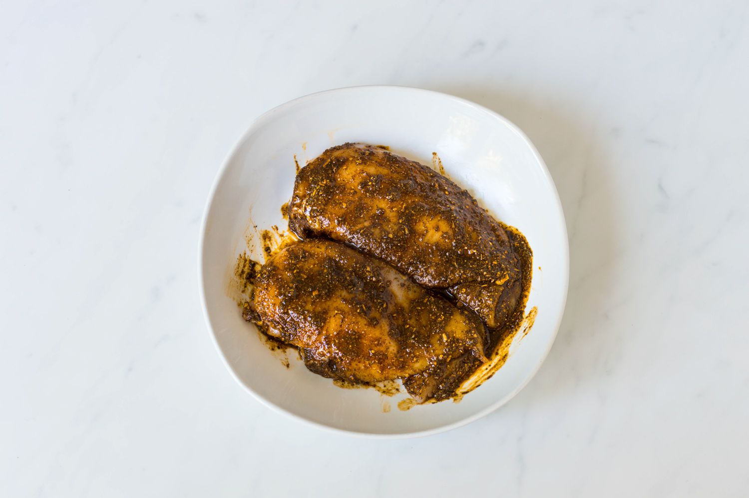 Chicken breasts and cajun spices