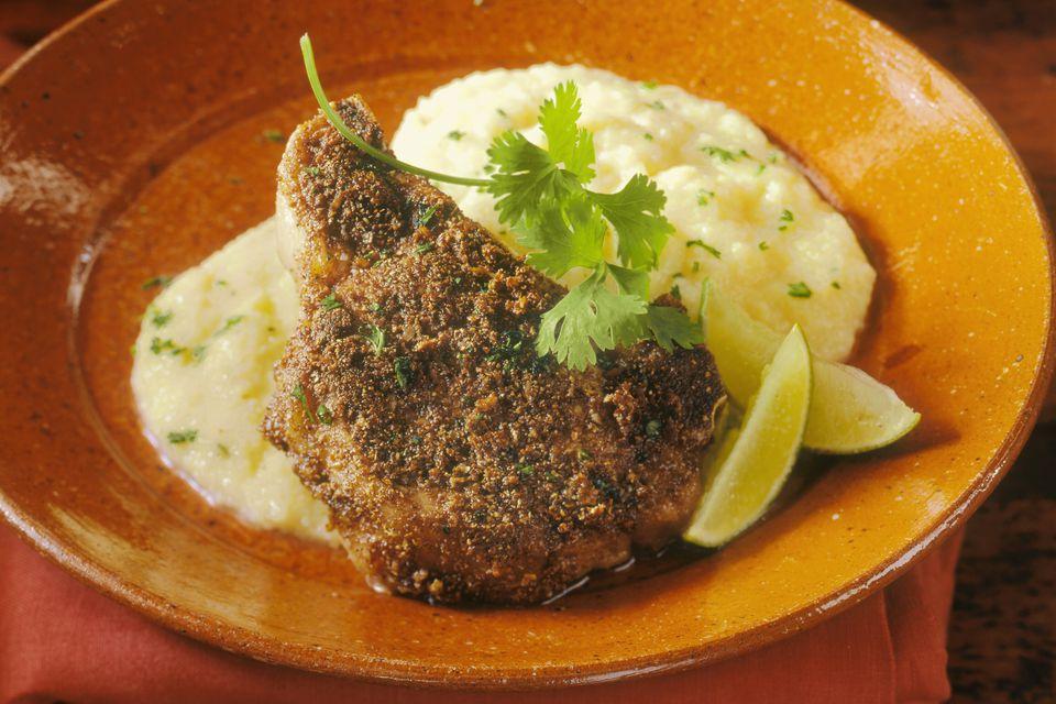 Easy Chicken Fried Pork Chops