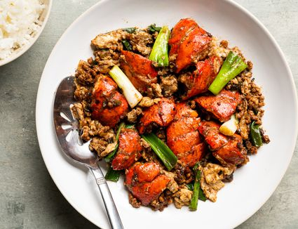 Lobster Cantonese With Savory Sauce