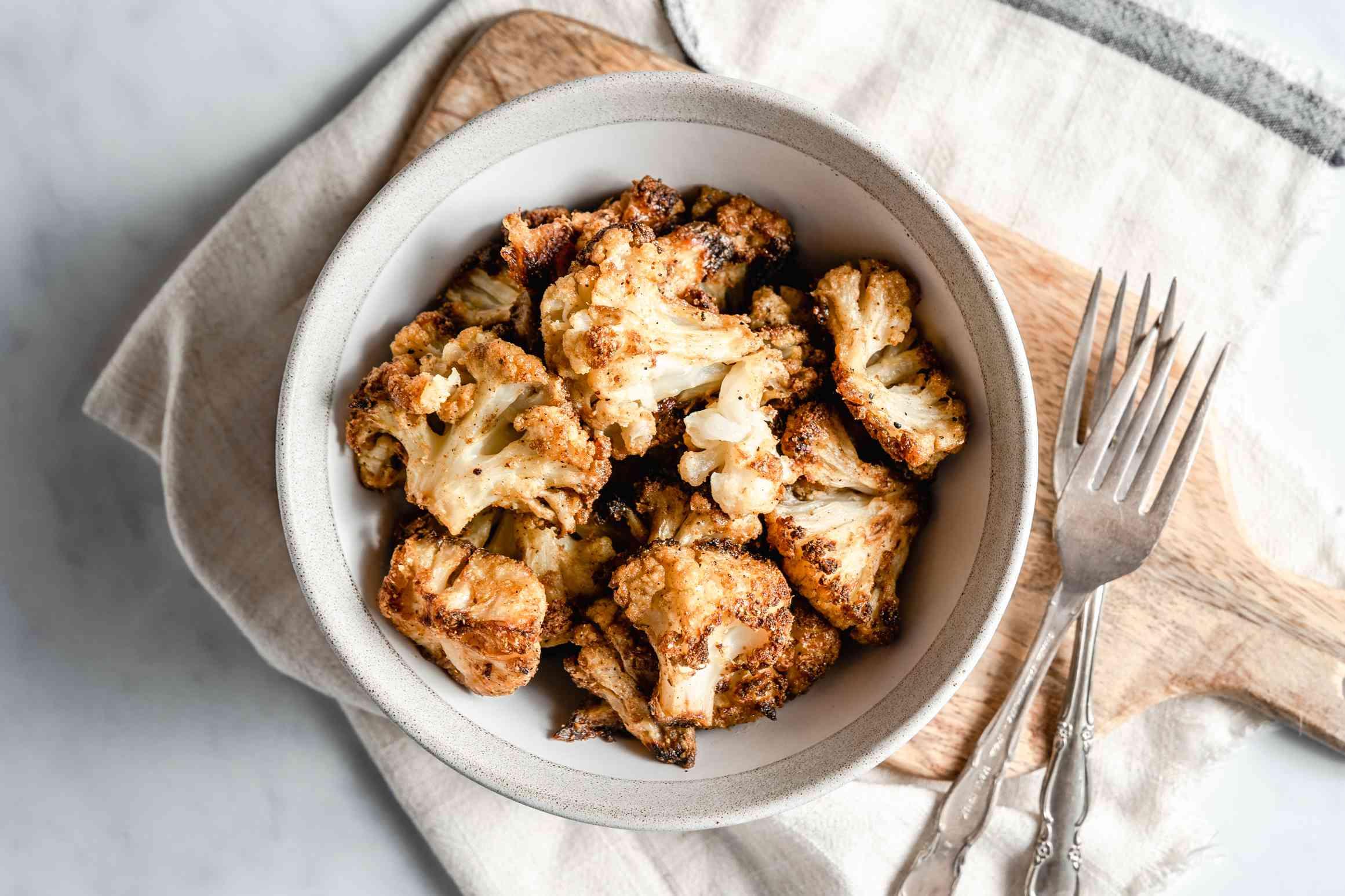 Indian Spice Roasted Cauliflower