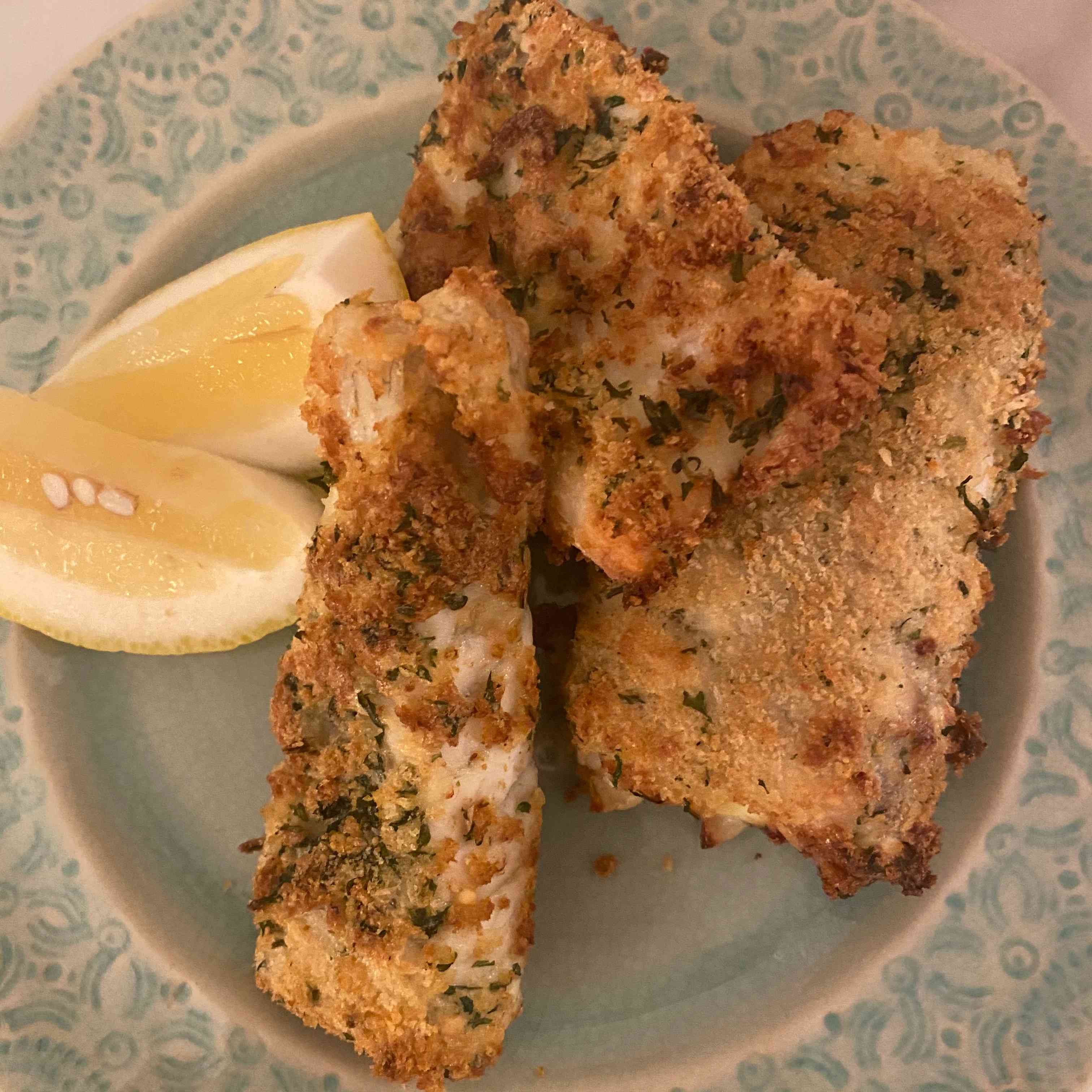 Baked Panko-Crusted Fish Fillets Tester Image