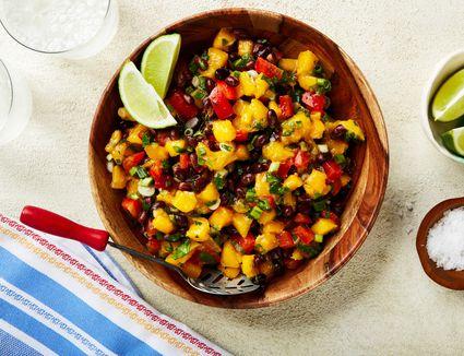 Black bean and mango salad recipe