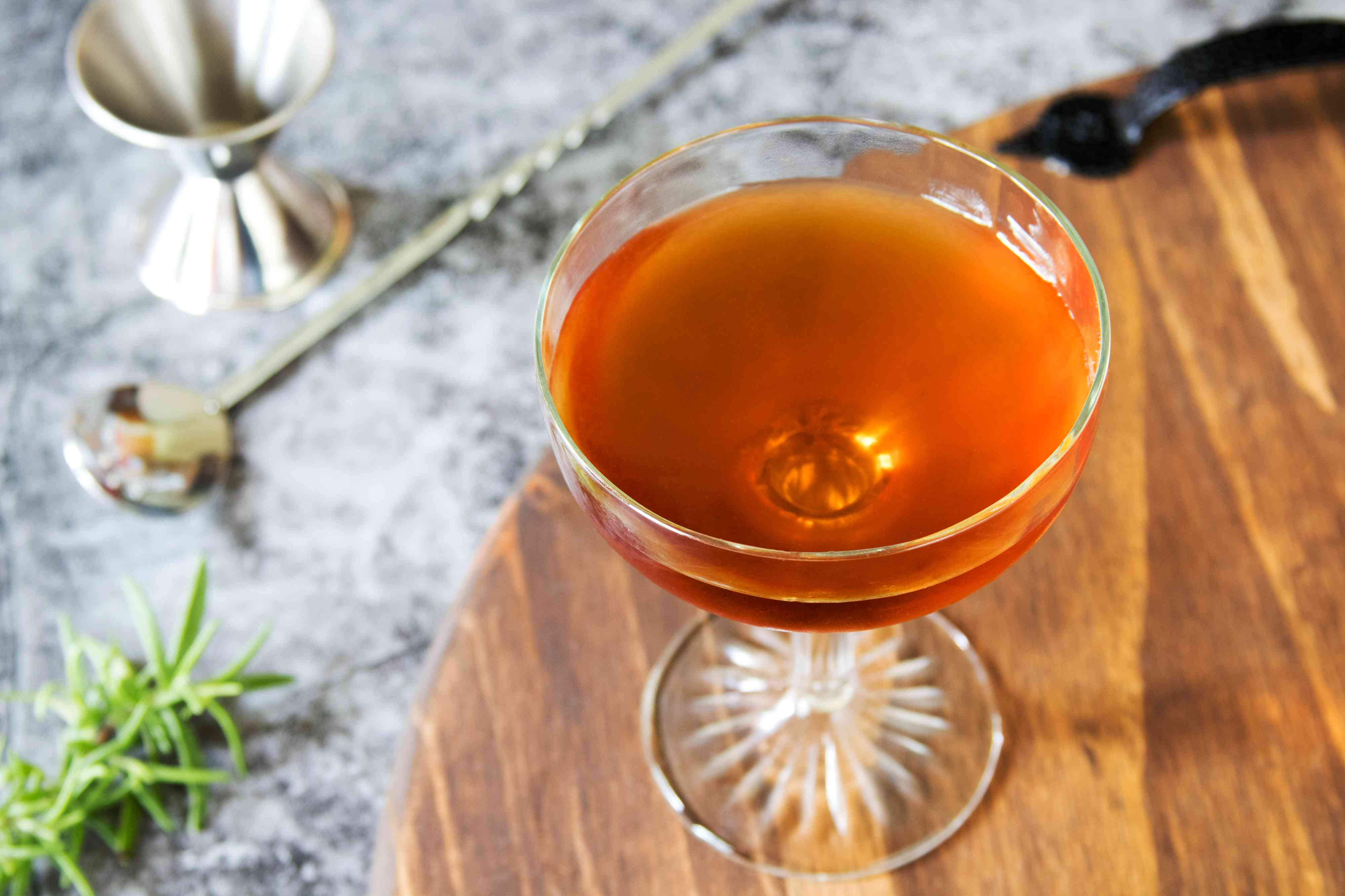 Smoked Rose Scotch Whisky Cocktail