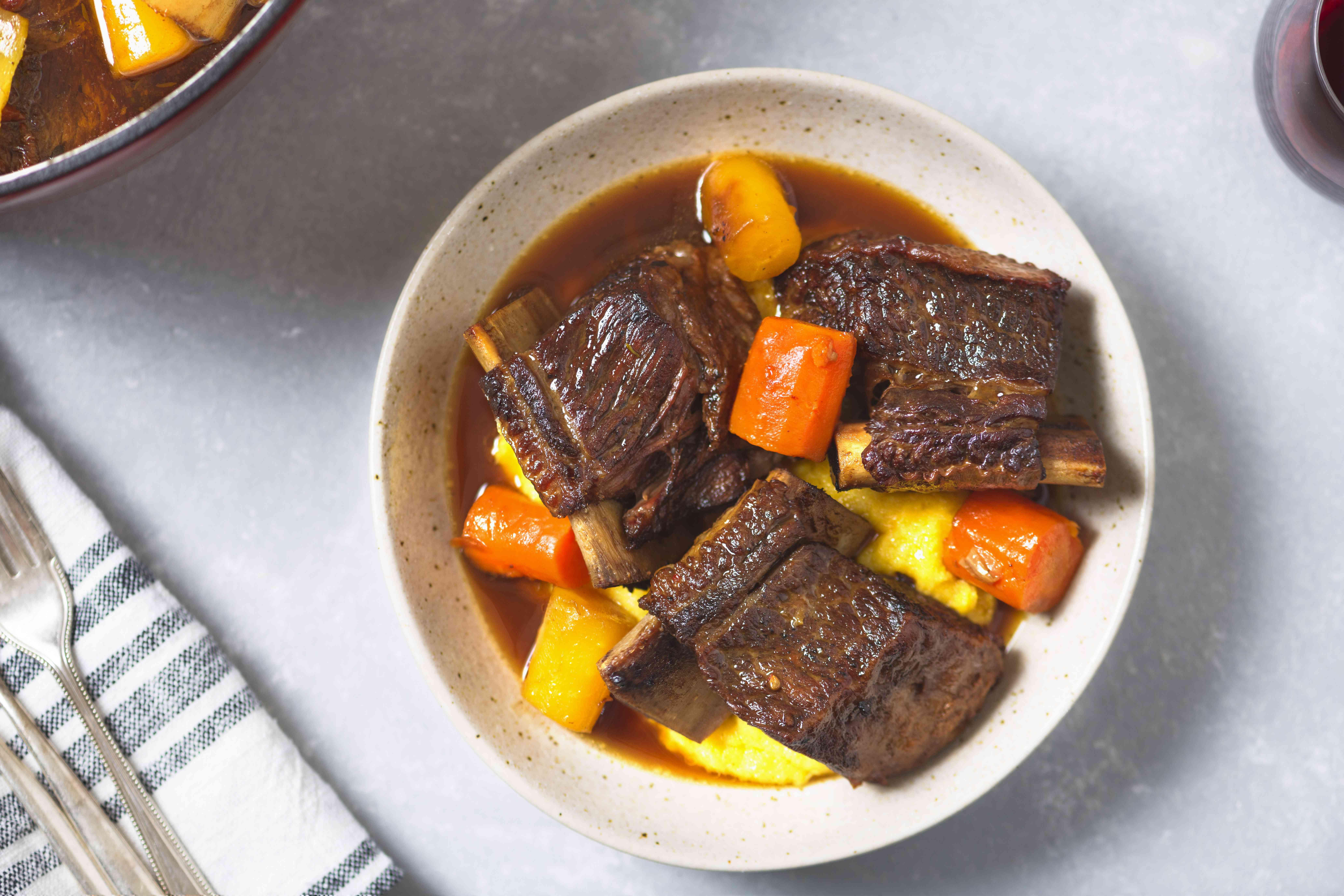Make-Ahead Beef Short Ribs
