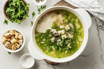 Creamy Semi-Homemade Chicken Noodle Soup