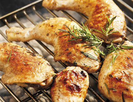 Grilled Chicken With Rosemary