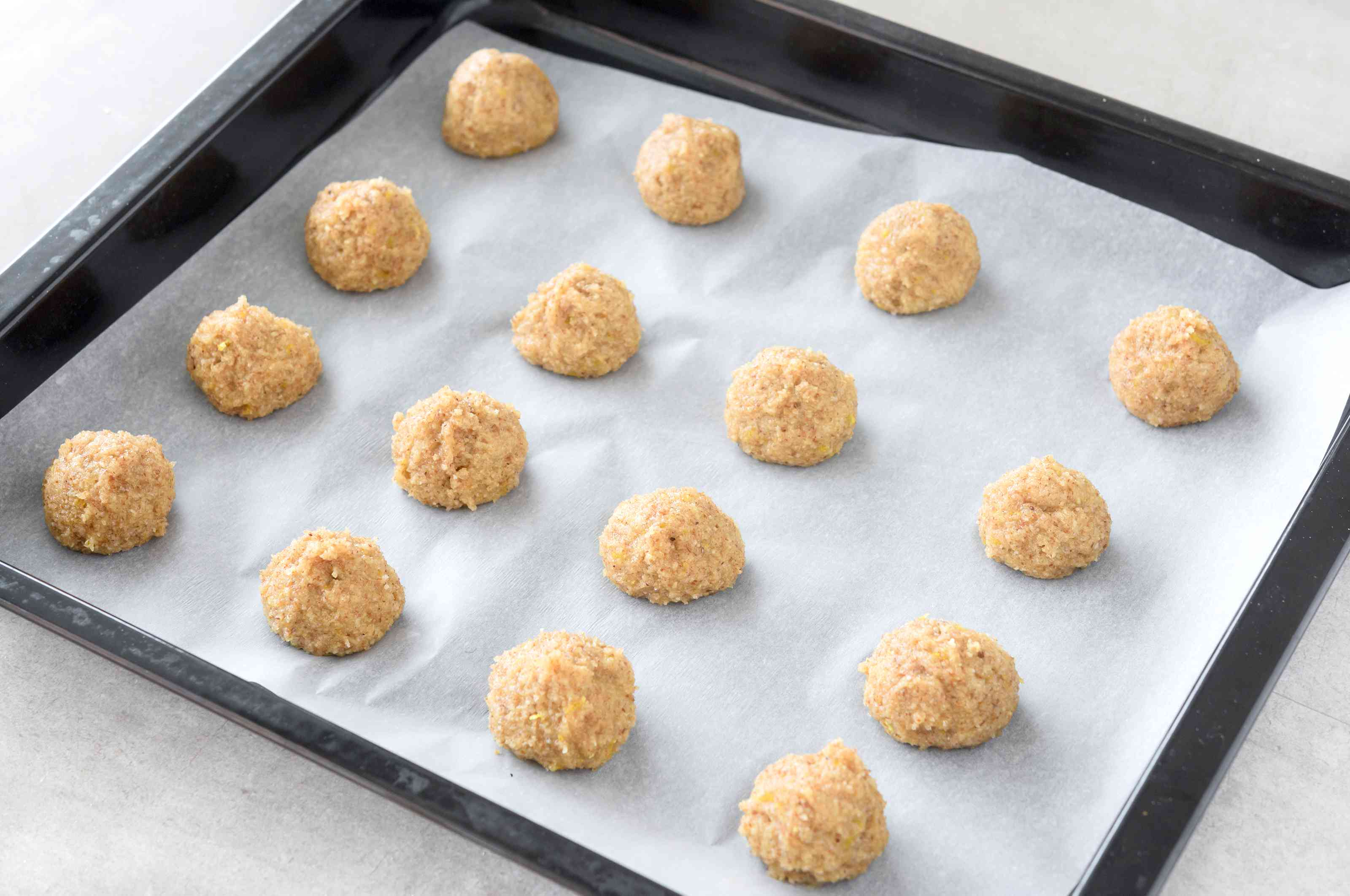 Shape cookies