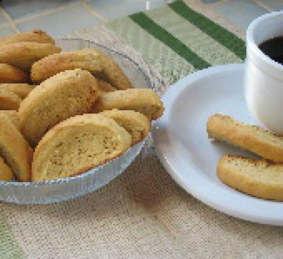 Orange Sesame Cookies - Biscotti - Paximathakia - Greek food photos