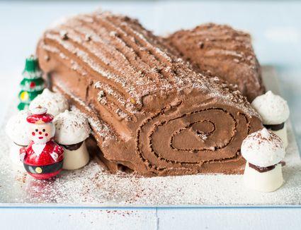 Chocolate Buce de Noel