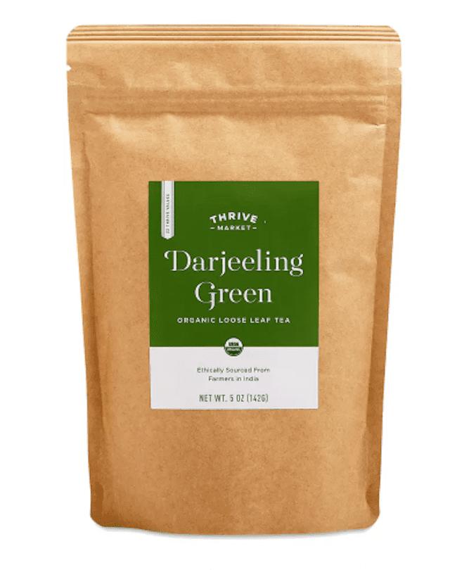 Thrive Market Organic Darjeeling Green Loose Leaf Tea