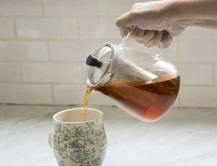 Cusinium Glass Teapot Kettle with Infuser