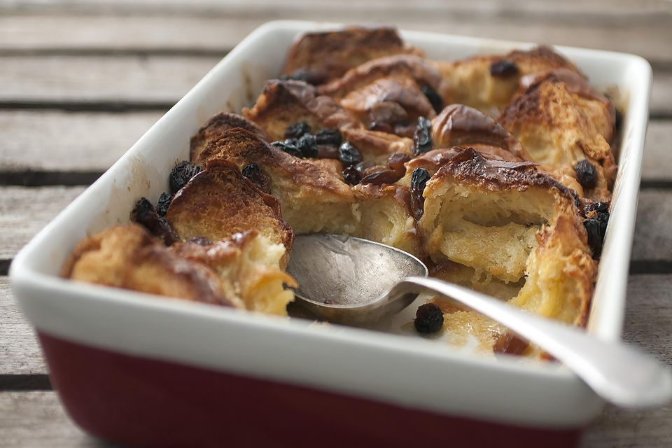 Brioche Bread and Butter Pudding