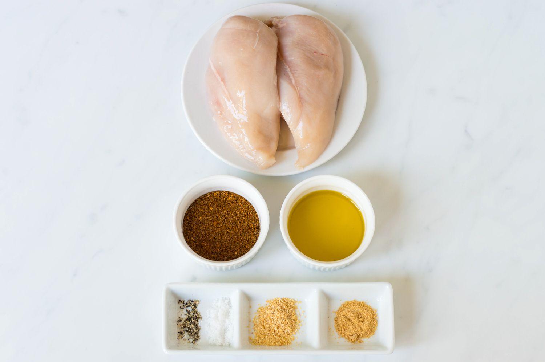 Easy Cajun Spiced Chicken Breast ingredients