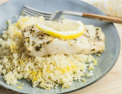 Lemon Garlic Cod