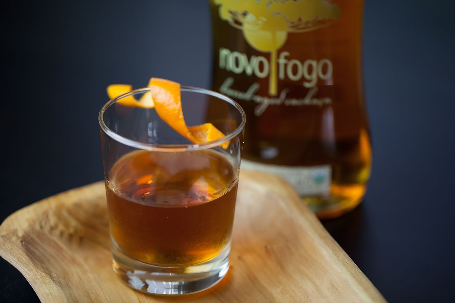 Novo Fogo Barrel Aged Cachaca and My Sherry Amor Cocktail