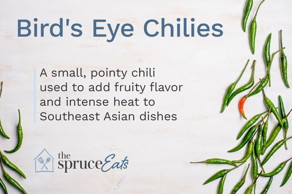 what are bird's eye chilies