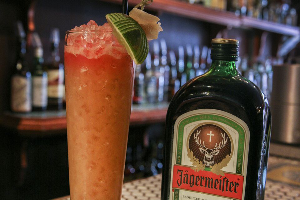 Jagermeister's German Vacation Cocktail Recipe
