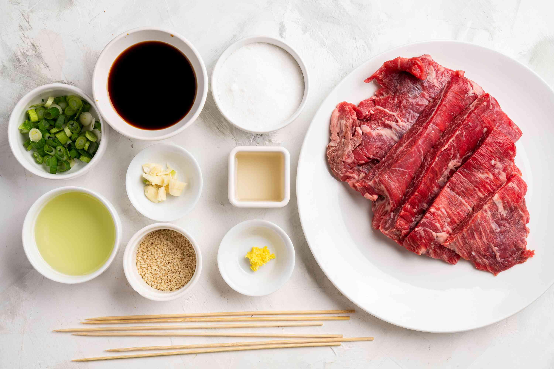 Japanese Beef Skewers (Kushiyaki) ingredients