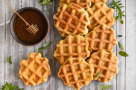 French Belgian Waffle Cookies Gaulettes