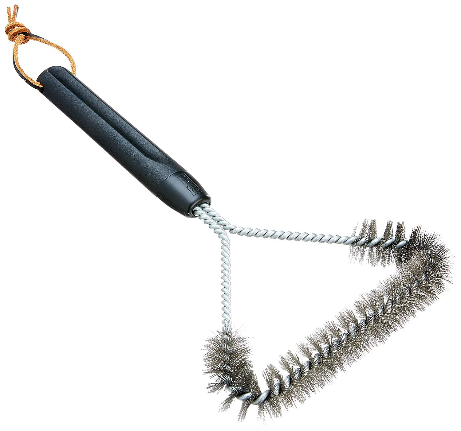 Weber 12-Inch 3-Sided Grill Brush