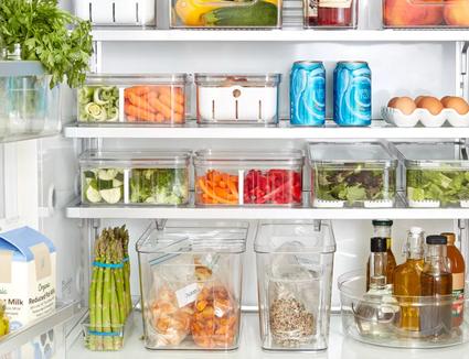 best fridge organization bins