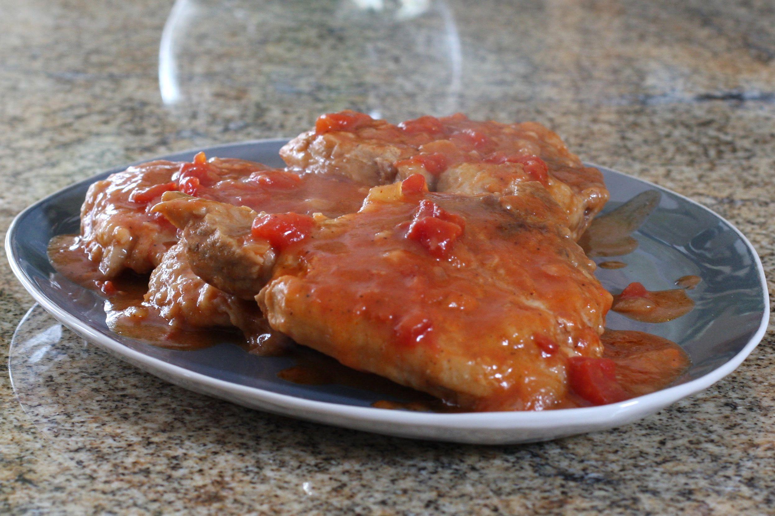 Spanish Style Pork Chop Bake