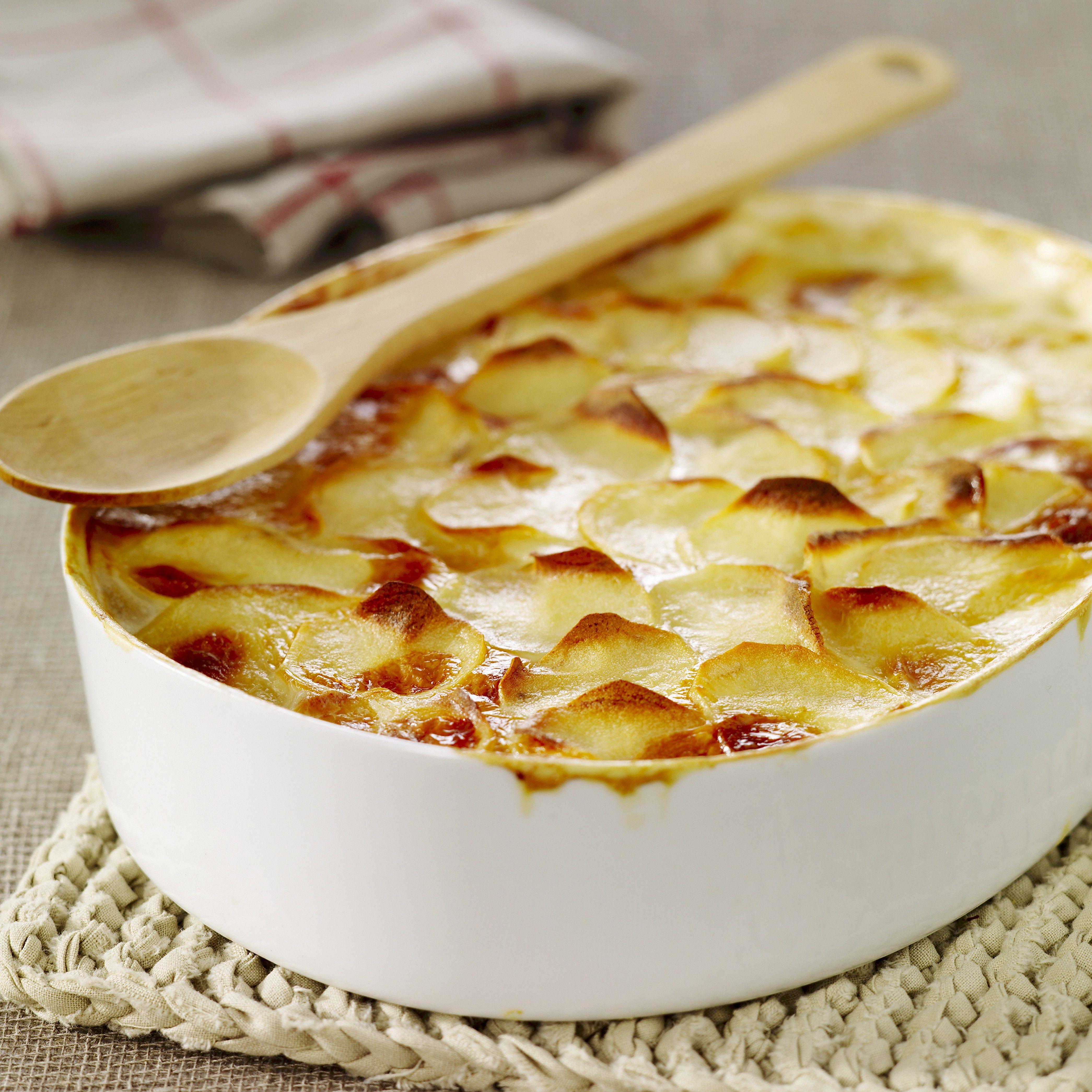 German potato gratin