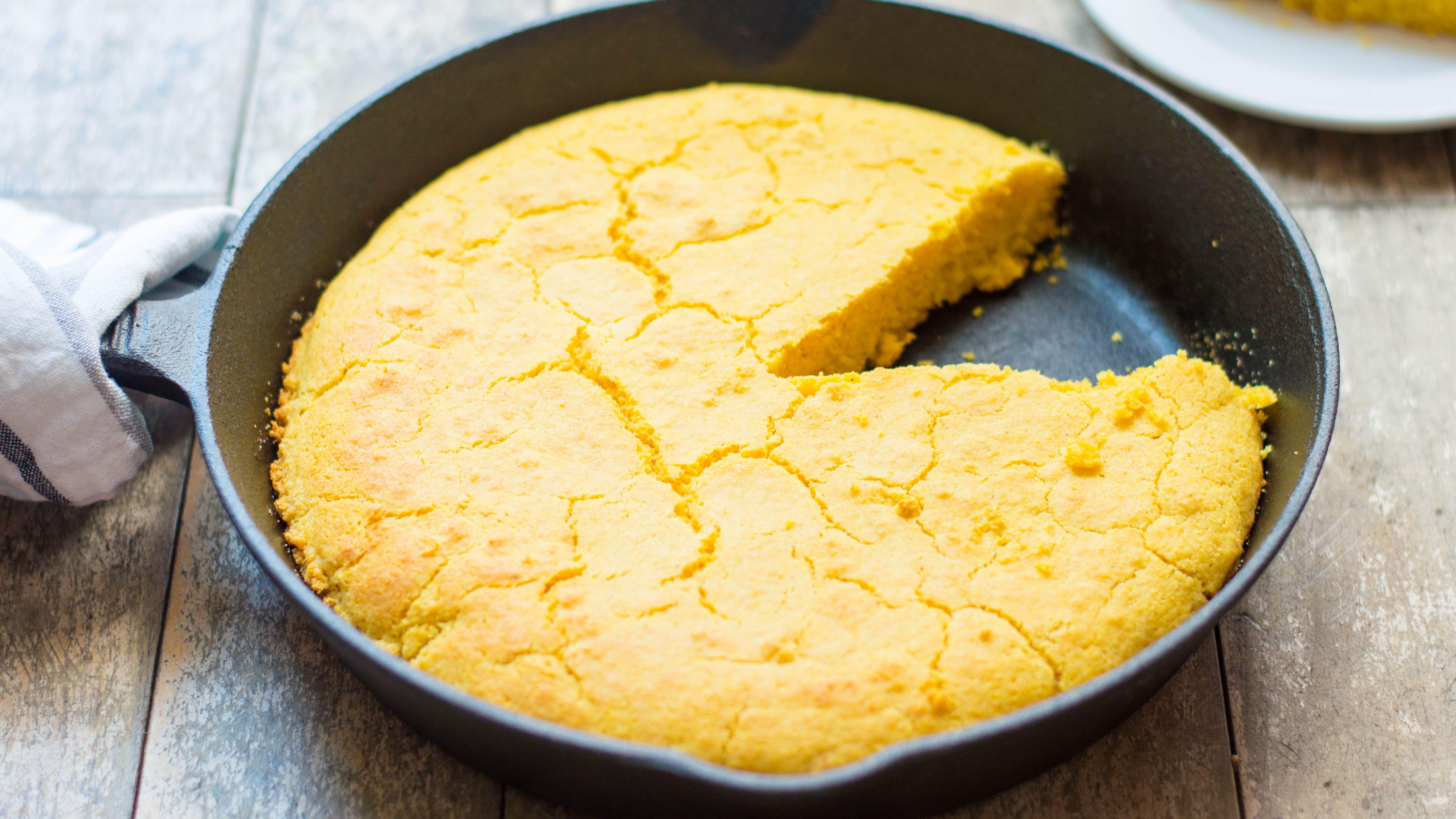 Buttermilk Cornbread Recipe No Sugar