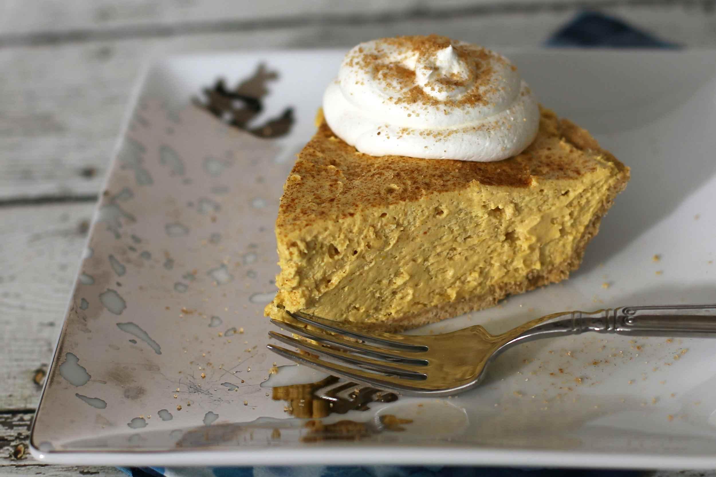 10 Minute Pumpkin Pie