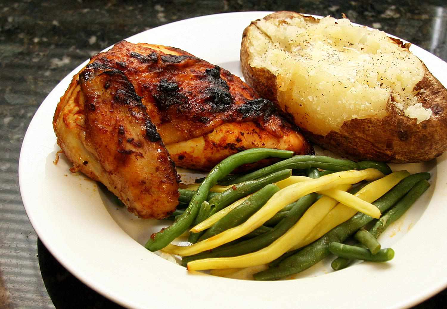 Baked Chicken With Smoked Paprika