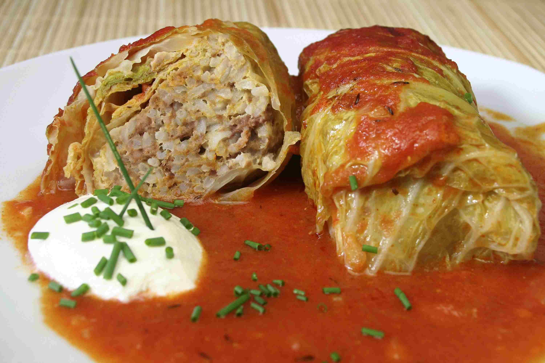 croatian stuffed cabbagte