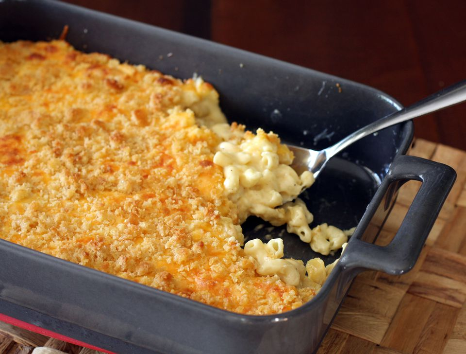 Extra creamy macaroni and cheese