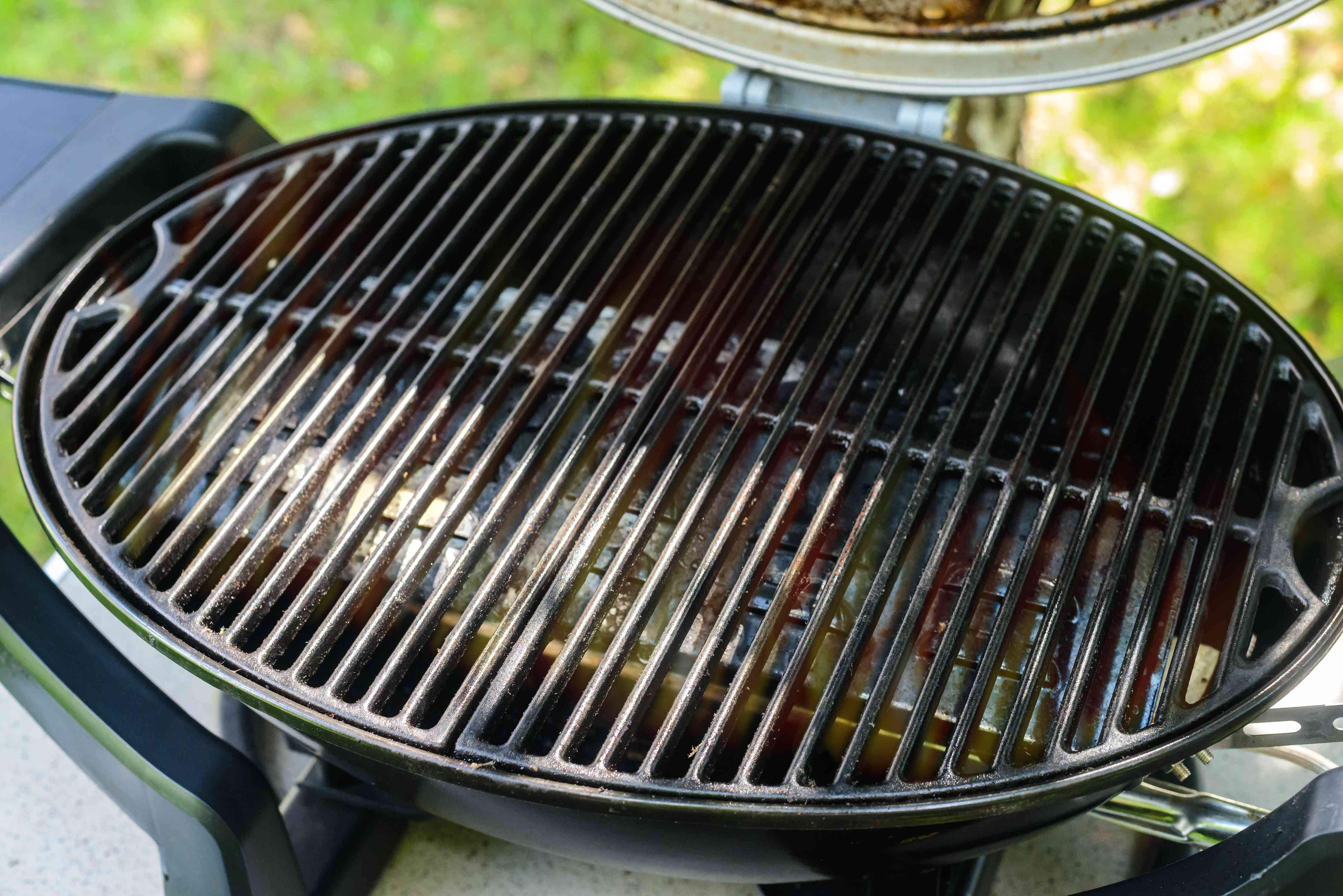 Grill preheating