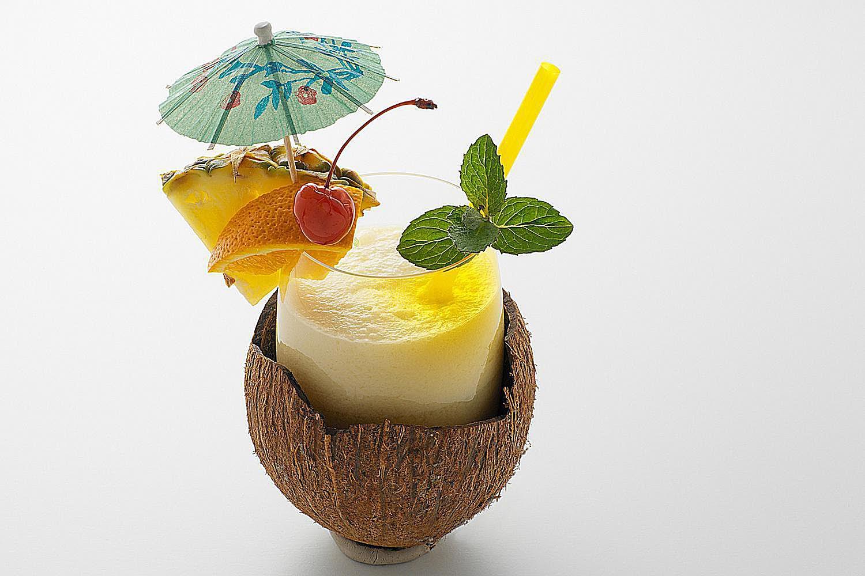 Coco Colada non-alcoholic shake