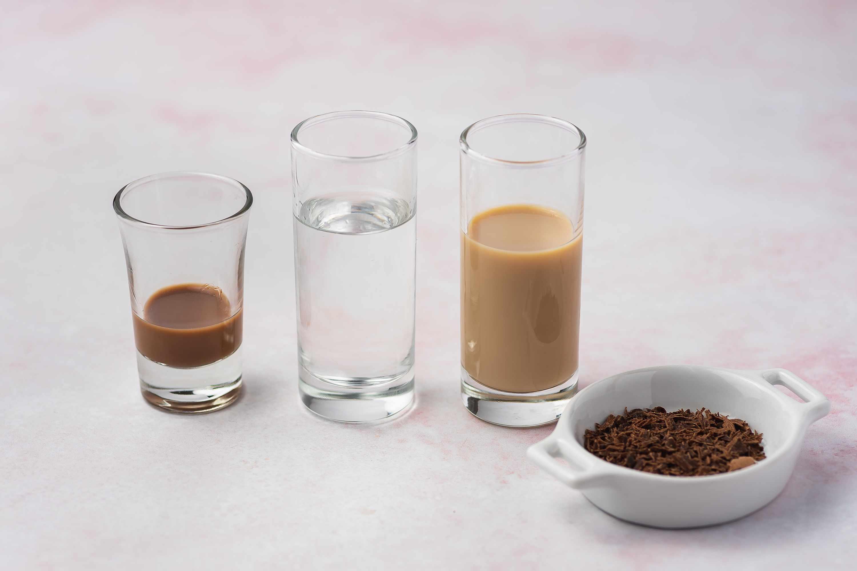 Chocolatini Cocktail ingredients