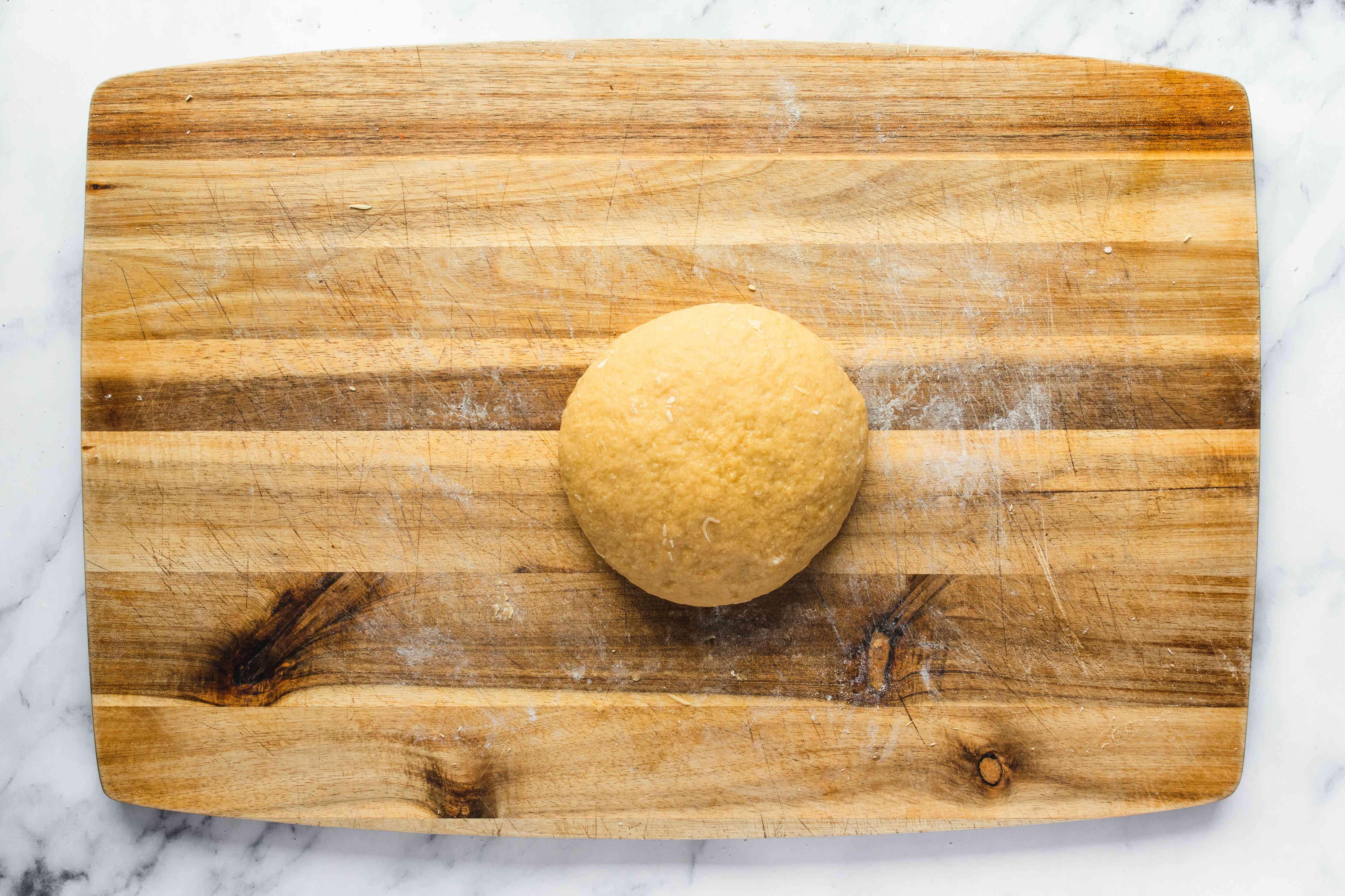 Combine flour and sugar