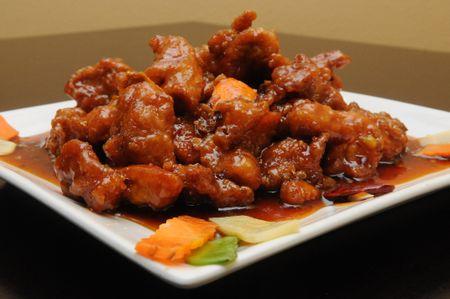 Szechuan Chicken Table