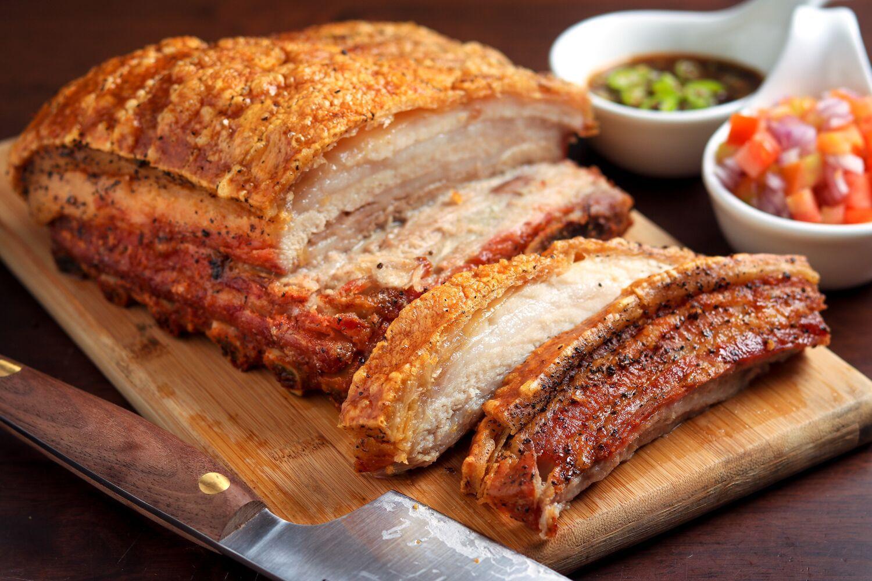 Crispy Slow-Roasted Pork Belly Recipe