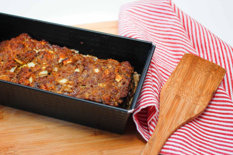 Baked meatloaf