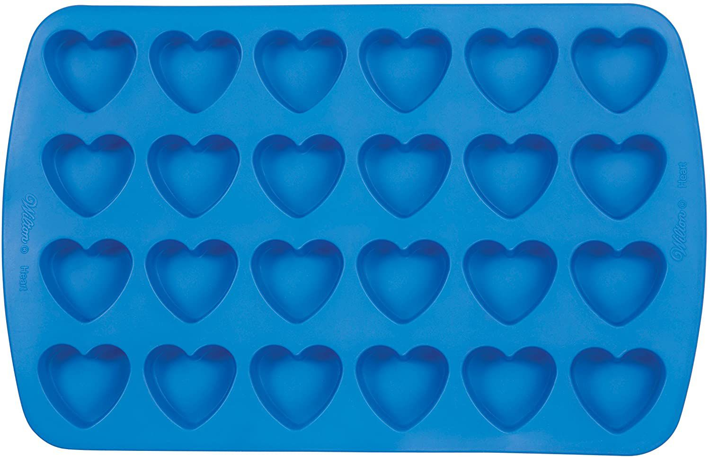 Wilton Easy-Flex Silicone Heart Mold